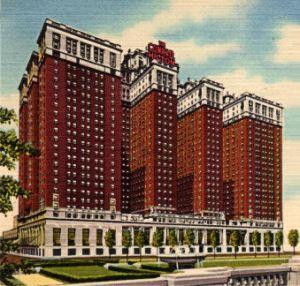 The Conrad Hilton-Chicago, 1925, postcard