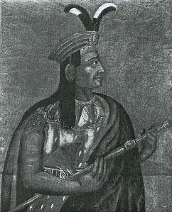 Ataw Wallpa, or Atahualpa, Last Incan Emperor