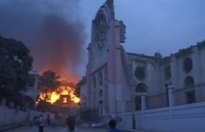 The Port-au-Prince Cathedral - After