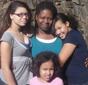 Nikki, Alayha, Tai and I, January 2012